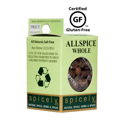 Spicely Allspice Whole, 0.4 Ounce