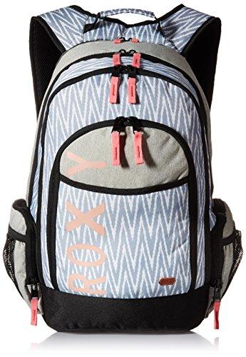 Roxy Junior's Cool Breeze Poly Backpack, Ikat Chevron Seaspray, One Size
