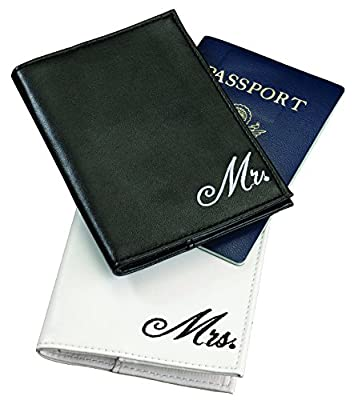 Lillian Rose Mr. and Mrs. Passport Covers, 4-Inch by 5.5-Inch