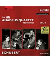 The Rias Amadeus Quartet Schubert Recordings, Vol. 2