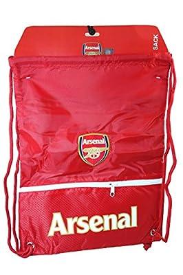 Arsenal Authentic Official Licensed Soccer Drawstring Cinch Sack Bag 01
