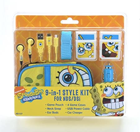Nickelodeon SpongeBob 9 in 1 DS Lite Kit