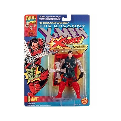 X-Men: X-Force Kane #2 Action Figure - 1
