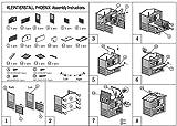 Kleintierstall PHOENIX mit ausziehbarem Freigehege -