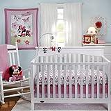 Disney Minnie's Garden 3 Piece Comforter Crib Bedding Set
