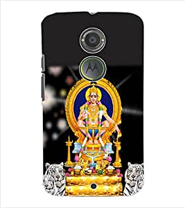 ColourCraft Lord Ayyappa Back Case Cover for MOTOROLA MOTO X2