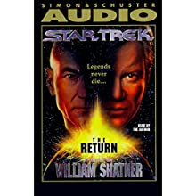 Star Trek: The Return (Adapted) Audiobook by William Shatner Narrated by William Shatner
