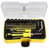 Kingsmith 6092C 70 in 1 Professional Screwdriver Set Magnetic Screwdriver Kit Auto and Homeowner's Tool Kit for Phones, Cameras, Watches, Small and Large Appliances