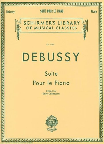 Suite pour le Piano (Schirmer's Library of Musical Classics)