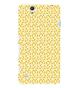EPICCASE orangy leaf Mobile Back Case Cover For Sony Xperia C4 (Designer Case)
