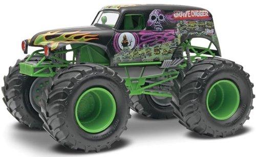 Revell SnapTite Grave Digger Monster Truck Plastic Model Kit, Scale 1/25
