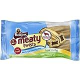 Bakers 2 Meaty Twists Medium Beef Dog Food 180 g (Pack of 12)