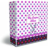3-Ring Coupon Organizer Binder - Polka Dots