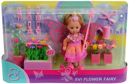 Simba Simba Steffi Love Evi Flower Power 4 Asst (Multicolor)