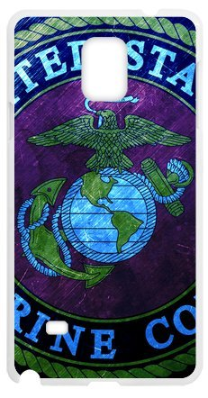Lilichen Cool Design Forever Collectible Usmc Marine Corps Case Cover For Samsung Galaxy Note4 (Laser Technology) -- Desgin By Lilichen
