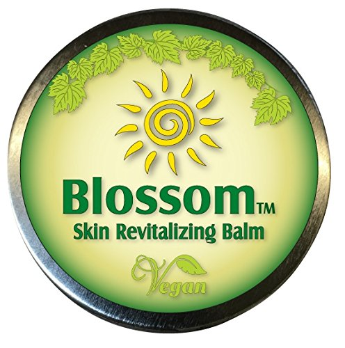 Blossom Balm - Natural Vegan Blend of Essential Oils & Candelilla Wax for Wound Care, Psoriasis, Eczema, Hives, Rosacea, Dermatitis & Shingles. Relief for Cuts, Burns, Anti Itch & Fungal. Not a Cream (Cortisone Cream For Dogs compare prices)