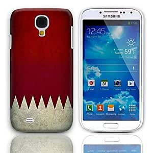 Vintage Flag Pattern Hard Case with 3-Pack Screen Protectors for Samsung Galaxy S4 I9500