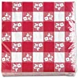 Creative Converting Paper Napkins, Two-Ply, 12 7/8 in x 12 3/4 in, Red Gingham, 50 per Carton (21188)