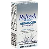 Refresh Optive Advanced Lubricant Eye Drops -- 0.33 fl oz