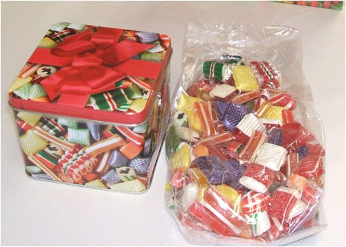 Old Fashioned Christmas Hard Candy