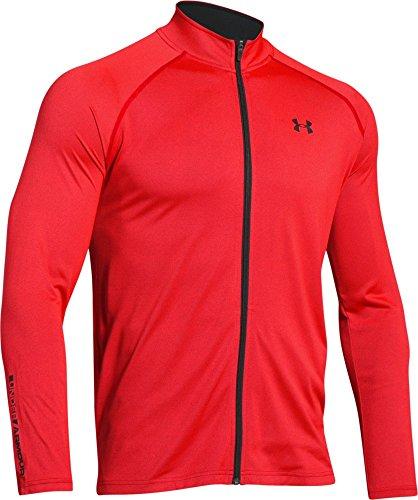 under-armour-tech-veste-zippe-rocket-red-fr-l-taille-fabricant-lg