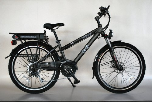 EG Milan 350 Electric Bicycle - Matte Metallic Grey