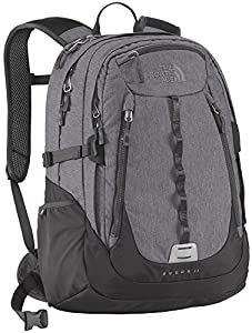 The North Face Surge II Backpack Zinc Grey Heather/Asphalt Grey OS