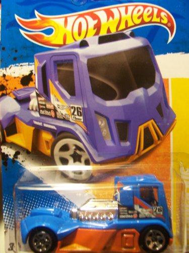 Hot Wheels 2011 New Models Rennen Rig 19/244 - 1