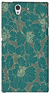 Timpax protective Armor Hard Bumper Back Case Cover. Multicolor printed on 3 Dimensional case with latest & finest graphic design art. Compatible with Sony L36H - Sony 36 Design No : TDZ-28449