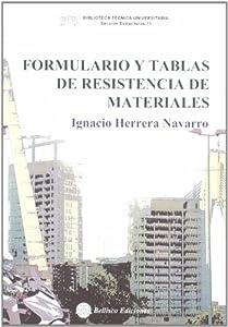 Formulario y tablas de resistencia de materiales: Amazon