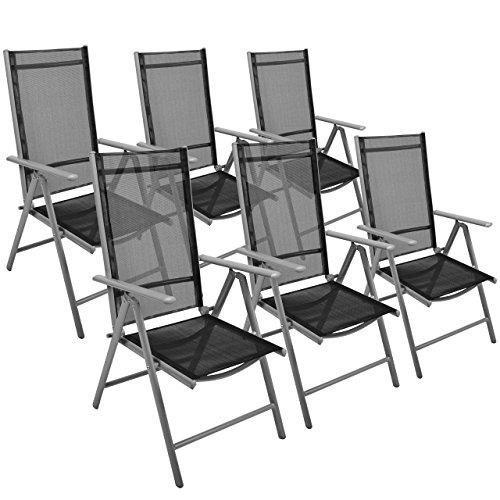 6er-Set-Klappstuhl-Aluminium-Gartenstuhl-Aluminium-Campingstuhl-verstellbar-schwarz-stabil