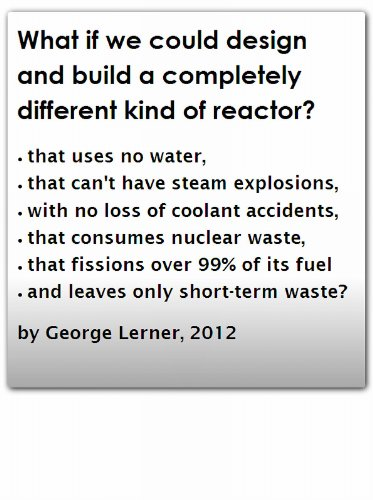 Amazon.com: What Is A LFTR, and How Can A Reactor Be So Safe? eBook: George Lerner: Kindle Store