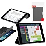 Orzly - Apple iPad MINI SlimRim Tablet Case CUSTODIA con SUPPORTO integrato in NERO ( Alias: Orzly SlimRim Smart...