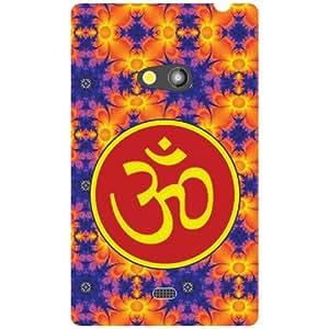 Via flowers Back Cover For Nokia Lumia 625 Om Sign Multi Color
