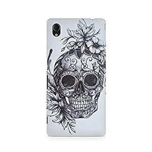 Mobicture Skull Abstract Premium Printed Case For Sony Xperia M4