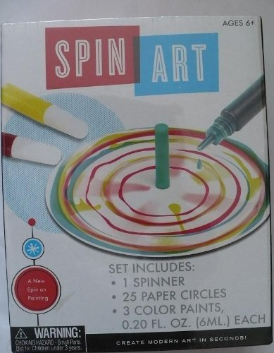 Spin Art Kit - 1