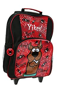 Trade Mark Collections Scooby Doo Yikes Wheeled Bag from Trade Mark Collections
