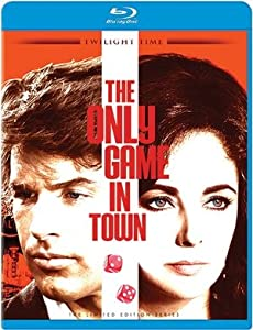 THE ONLY GAME IN TOWN BLU RAY (1970)