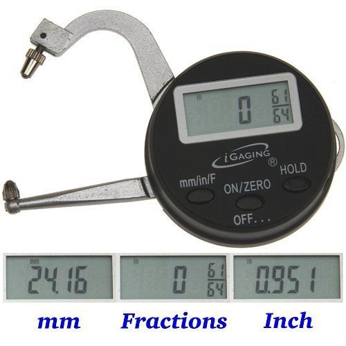 Digital Electronic THICKNESS GAGE 0-1