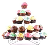 Francois et Mimi DCP0041 41-Cupcake Multi-Tiered Metal Dessert and Cupcake Stand