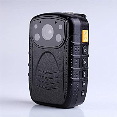 PatrolEyes HD 1080P Infrared Night Vision Police Body Lapel Worn Camera Security IR Cam With 32GB Built In Memory