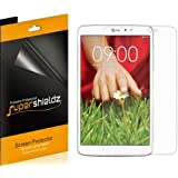 [3-Pack] SUPERSHIELDZ- High Definition Clear Screen Protector For LG G Pad 8.3 inch Tablet + Lifetime Replacements Warranty (NOT Compatible With The Verizon version)[3-PACK] - Retail Packaging