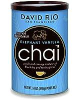 David Rio Elephant Vanilla Chai Mix - 14 oz. Canister