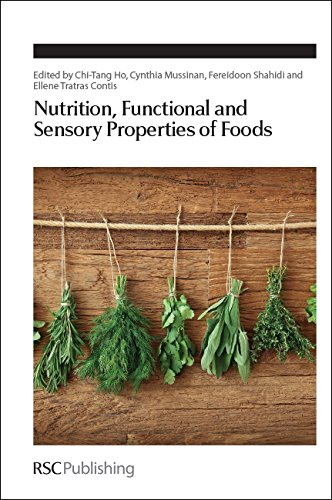 Nutrition, Functional And Sensory Properties Of Foods: Rsc (Special Publications)