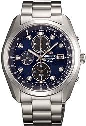 [オリエント]ORIENT 腕時計 NEO70\'s ネオセブンティーズ Horizon ホライズン ソーラー クロノグラフ WV0011TY メンズ