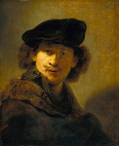 'Rembrandt Harmenszoon Van Rijn-Self-portrait In A Velvet Beret,1634' Oil Painting, 20x24 Inch / 51x62 Cm ,printed On Perfect Effect Canvas ,this High Definition Art Decorative Canvas Prints Is Perfectly Suitalbe For Gym Decoration And Home Decor And (Full Predator Costume For Sale)