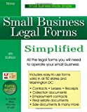 img - for Small Business Legal Forms Simplified (Small Business Legal Forms Simplified (W/CD)) by Daniel Sitarz (2004-11-17) book / textbook / text book