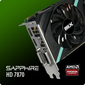 SAPPHIRE HD 7870 2GB