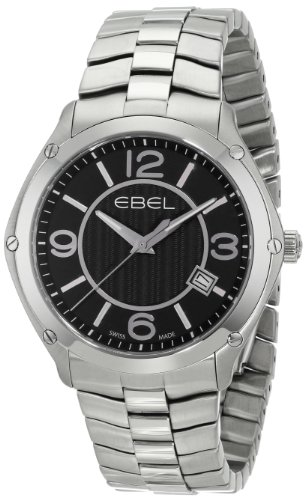 EBEL Men's 1216176 EBEL Sport Swiss Quartz Stainless Steel Watch