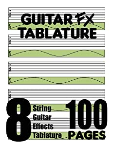 Guitar FX Tablature 8-String Guitar Effects Tablature